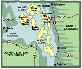 How to Get to Friday Harbor Washington on San Juan Island  San